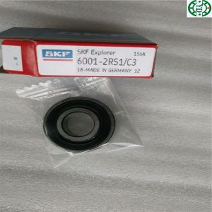 Made in Germany Rubber Seal Deep Groove Ball Bearing SKF 6001-2RS1/C3 pictures & photos