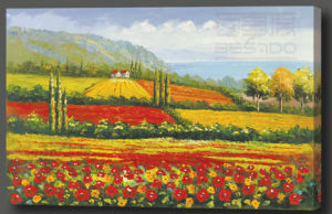 Scenery Oil Painting on Cotton Canvas (SC 10011 A)