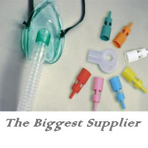 Adjustable Medical Oxygen Venturi Mask with 7 Diluters pictures & photos
