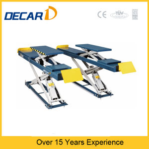 Dk-35 Wheel Alignment Scissor Car Lift pictures & photos