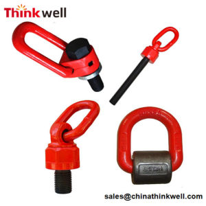 Grade 80 Chain Sling Lifting Point Swivel Hoist Ring pictures & photos