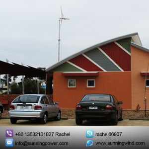 Renewable Energy Hybrid Solar Wind Power Generation System by The Use of Turbines. pictures & photos