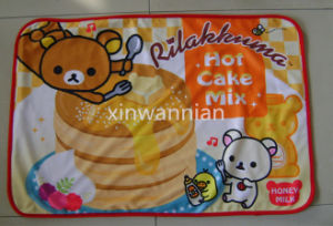 High Quality 100% Polyester Polal Fleece Blanket for Baby (XWN-BSH006)