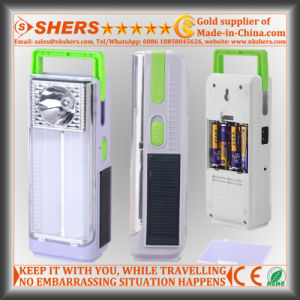 Portable 24 LED Solar Emergency Light with 1W Flashlight (SH-1963) pictures & photos