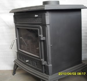 Cast Iron Stoves with Steel Boiler (AM02B(S)-21KW) pictures & photos
