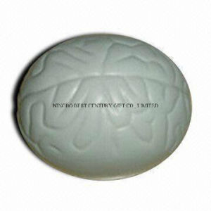 PU Foam Stress Brain Gray Promotional Stress Ball