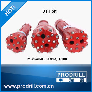 High Air Pressure DTH Hammer Button Drill Bit pictures & photos