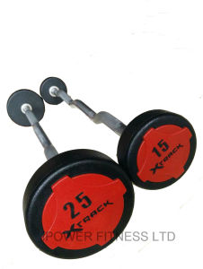 Xtrack Solid Color Barbells, Urethane Colour Barbells pictures & photos