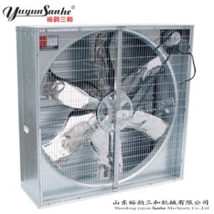 Hot Sale Yuyun Sanhe Centrifugal Push Pull Type Exhaust Fan for Poultry Farm/Poultry House Ventilation and Cooling pictures & photos