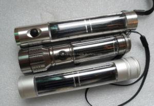 5 LED High Quality Aviation Aluminum Alloy Solar Flashlight (JX-SF009-2) pictures & photos
