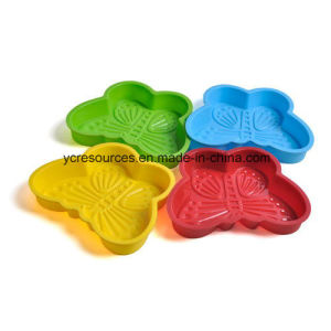 Silicone Butterfly Design Cake/Chocolate/Ice Cream Mould pictures & photos