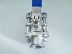 Sanitary Ball Valve Stainless Steel Ball Valve 3PC Ball Valve 2PC Ball Valve pictures & photos