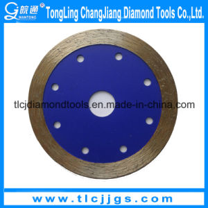 Continuous Rim Diamond Wet Saw Blade pictures & photos