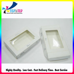 White Clear Window Packing Box for Cosmetic Kits pictures & photos