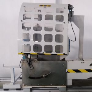 Industrial Aluminum Profile CNC Heavy Duty Arbitrary Angle Double Head Cutting Saw pictures & photos