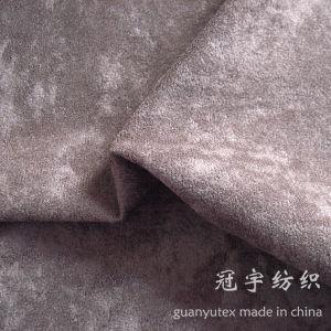 Speckle Pile Alova Short Hair Velvet Fabric for Sofa pictures & photos