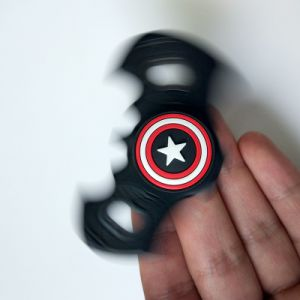 New Fidget Spinner  Fidget Toy EDC Captain Hand Finger Spinner Relieve Stress Austism Adhd America Handspinner Toys pictures & photos