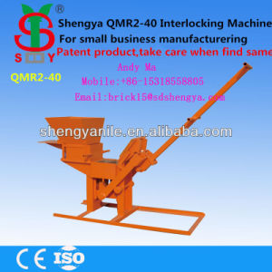 Shengya High Reputation Small Cement Interlocking Brick Making Machine Qmr2-40 Manual Fly Ash Brick Making Machine pictures & photos