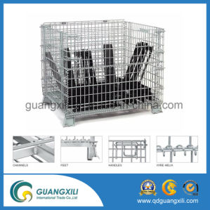 1200*1000*900 Heavy Duty Steel Storage Cage with Caster /Wheel pictures & photos