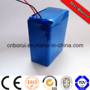 3.7V 3200mAh Lithium Ion Flat Top Battery 10A Discharge for Ebike pictures & photos