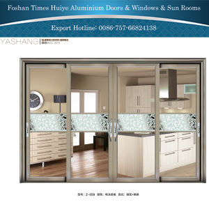 China Factory Aluminum Sliding Doors with Double Glazing House Price pictures & photos