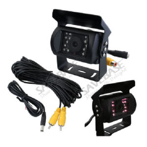 Truck 7 Inch Quad Digital LCD Reversing Monitor 4 Video +4 CCD Backup Camera pictures & photos