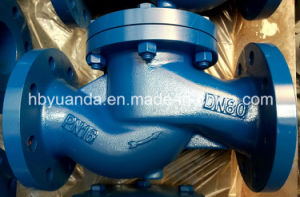 DIN3202 cast iron lift piston check valve manufacturers China pictures & photos
