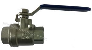 Stainless Steel 2PC Female Threaded Ball Valve 1000 Wog pictures & photos