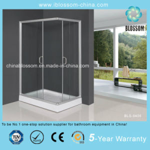 Clear Tempered Glass Aluminum Frame Shower Cubicle Shower Enclosure (BLS-9405) pictures & photos