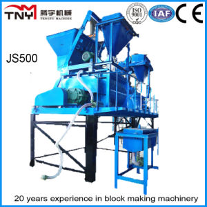 Js500 Concrete Mixer for Block Making Machine pictures & photos