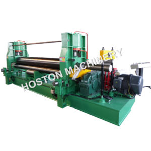 3 Roller Metal Sheet Bending Rolling Machine with Hydraulic Drive
