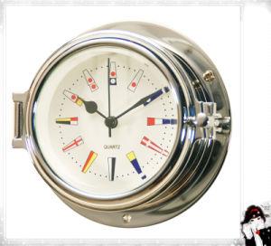 Nautical Quartz Clock 12 Hour Signal Flag Numberal Dial 81mm pictures & photos
