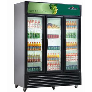 Ce Approved Commercial Vertical Beverage Display Cabinet Showcake Refrigerator pictures & photos