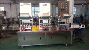 Automatic 6-Head Sealing Machine for Jars pictures & photos