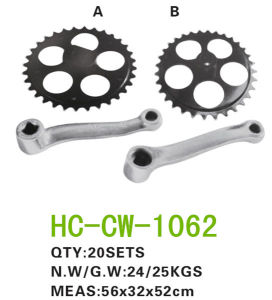 Bicycle Parts Chainwheel & Crank (CW-1062) pictures & photos