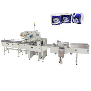 Toilet Tissue Packing Machine Toilet Roll Package Machine pictures & photos