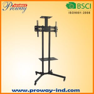 TV Cart with Rolling Wheels Movable TV Stand for 32 to 70 Inch LED LCD Plasma Tvs pictures & photos