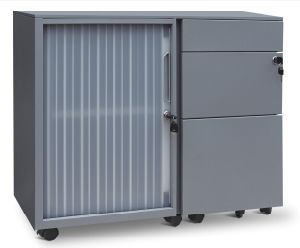 Tambour Rolling Door Metal Filing Cabinet (SPL-TRD02) pictures & photos