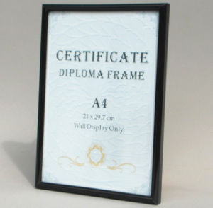 Hot Selling A4 Diploma Certificate Frames pictures & photos