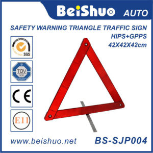 Safety Reflective Traffic Triangle Warning Sign pictures & photos