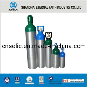 2L Mini Medical Used Oxygen Gas Aluminum Cylinder pictures & photos