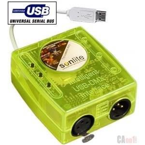 Sunlite USB-DMX Box (DC-009)