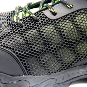 Black Kpu Upper China Brand Safety Shoes pictures & photos