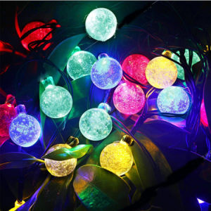 Solar String Lights 30 LED Water Drop Solar Light pictures & photos