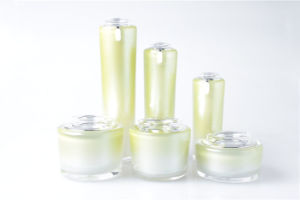 Acrylic Crown Cosmetic Bottle Lotion Bottle Wholesale (NST38) pictures & photos