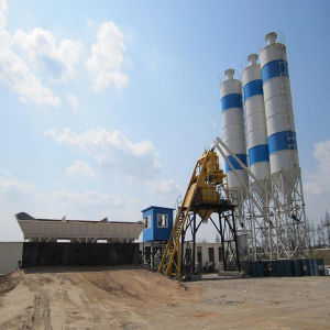 Hopper Type Concrete Mixing Plant (HZS75) pictures & photos