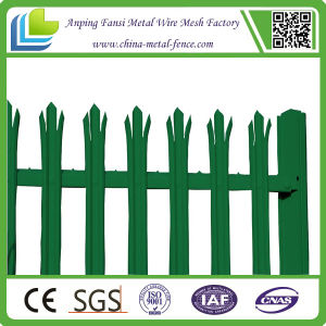 High Quality D Section Galvanized Palisade Fence for Sale pictures & photos