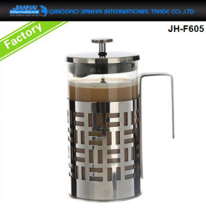 on Sale Luxury Glass Coffee Maker Pot French Press pictures & photos