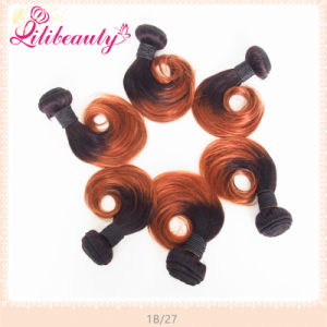 Brown Fashion Ombre Color Keratin Virgin Human Hair pictures & photos