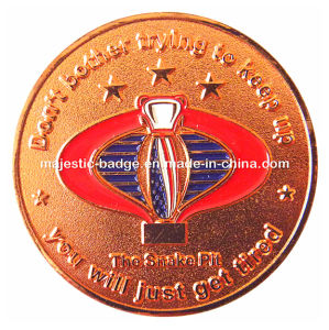 Copper Star Challenge Coin pictures & photos